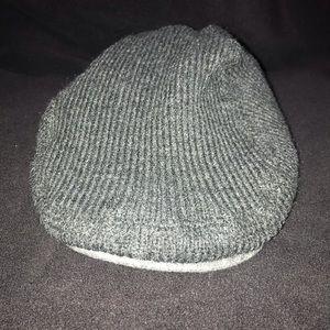 🧢 NWOT Hilfiger 100% Acrylic hat OS Dark Grey 🧢